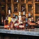 Bar Area with Bourbon Lockers