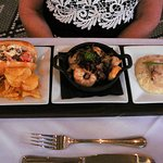 Seafood Flight......... Died And Gone To Heaven