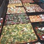 Pizzas at Romana