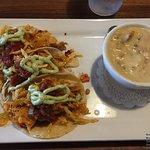 Fish Tacos & Clam Chowder