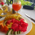 Breakfast fruitplatter
