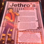 Bild från Jethro's BBQ
