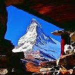 Mt. MATTER HORN SWITZERLAND and this photo belongs to isamukitafuji@hotmail.com