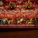 A seven-row carousel