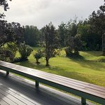 View of the golf course off the back deck of the Pi'i Mauna House