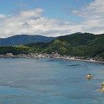 Ooshima from the bridge