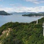 Winding road to Ooshima