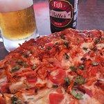 Tandoori Pizza with Fiji Bitter