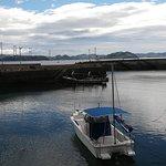 Mukuna Fishermen's Wharf with Kurushima Bridge