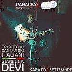 Sabato 1 settembre: Gianluca Devi porta in scena i più grandi cantautori italiani