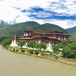 View of Punakha Monastery