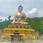 Biggest Sitting Buddha - Bhutan Thimpu