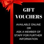 Gift vouchers for special occasions!