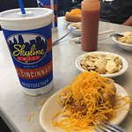 Skyline chili dogs are delightfully different!