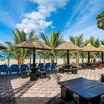 Beach view of Restaurant