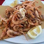 Ristorante I Cabbasisi - fried calamari and prawns