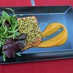 Ristorante I Cabbasisi - Salmon crusted with pistachio