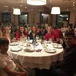 Jantar com nossos amigos de Fortaleza e Manaus