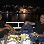 Great service and great food right on the lake looking at the old city and city palace