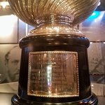 Original Cup with Lord Stanley photo-bomb