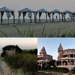 Hotel and beach views