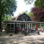Het restaurant met serre en terras