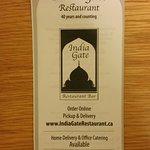 Bilde fra India Gate Restaurant