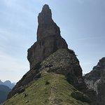 Photo de Il campanile delle Dolomiti - Campanile di Val Montanaia