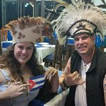 They will let you wear traditional Rapa Nui hats!!