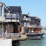 Photo of Sausalito Boardwalk