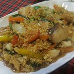 Cashew Nut Fish Slice