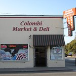 Colombi Market & Deli at 647Oak St. Fort Bragg, CA  Established by Emanuelle & Serafina Colombi