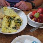 veggie lover's omelette