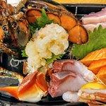 Lobster sashimi combo