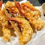 prawn and veg tempura