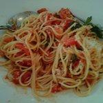 nice plate of spaghetti