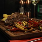 T-bone 500g. Perfection. Are you ready to try it. Meet us at Ox.