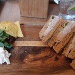 Tuna & Spring onion sandwich