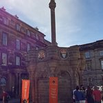 The meeting point for all our walking tours - the Mercat Cross