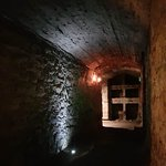 A look at our underground vaults on our ghost tours in Edinburgh