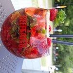 koktail ze świeżych owoców