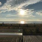 View of ocean from Rehoboth Beach Boardwalk