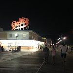 Rehoboth Beach Boardwalk in front of Dolle's  2018