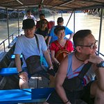 Cruising on the Mekong River