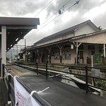 湯田中駅。風情がある。
