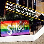 Summer Break!!! Salud willbe closed the month of September