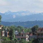 Le montagne si vedono anche durante la stagione dei monsoni
