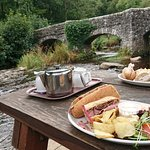 Foto di Fingle Bridge Inn