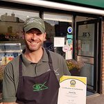We are not only experienced but also certified fish friers now!