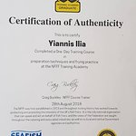 Training Certification from the Academy of the National Federation of Fish Friers!
